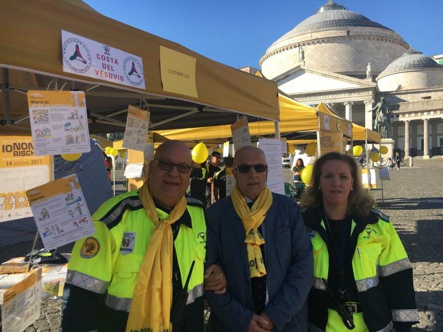 """Protezione civile, in piazza Plebiscito la manifestazione """"Io non rischio"""""""