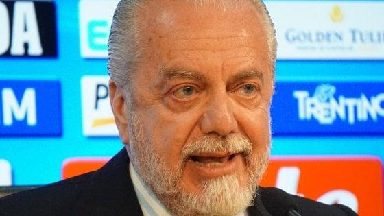 Napoli, De Laurentiis che stoccata a Guardiola: