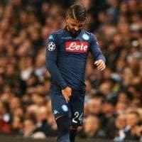Napoli, Insigne resta in dubbio per l'Inter: nuovi esami strumentali