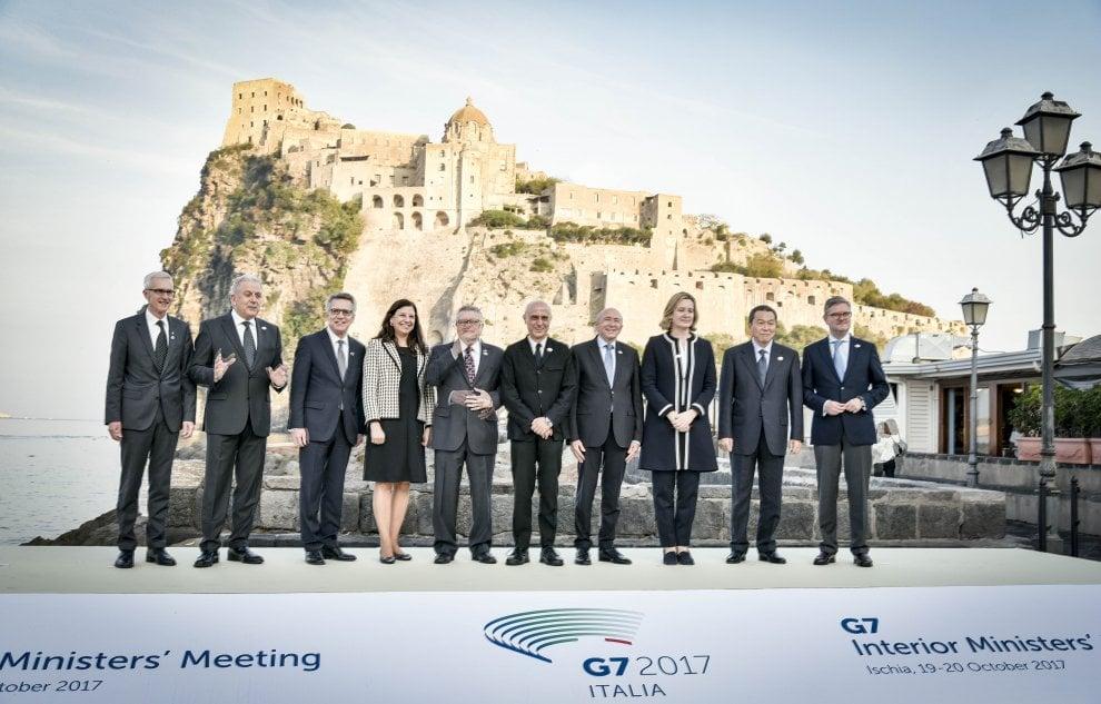 G7 Interni: al via la riunione dei ministri a Ischia