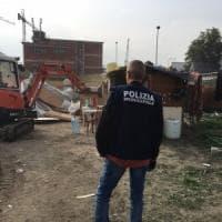 Sgomberata l'area dell'ex Parco Marinella, distrutte le baracche