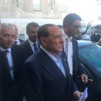 Berlusconi a Capri per il convegno Giovani Confindustria, a piedi nella