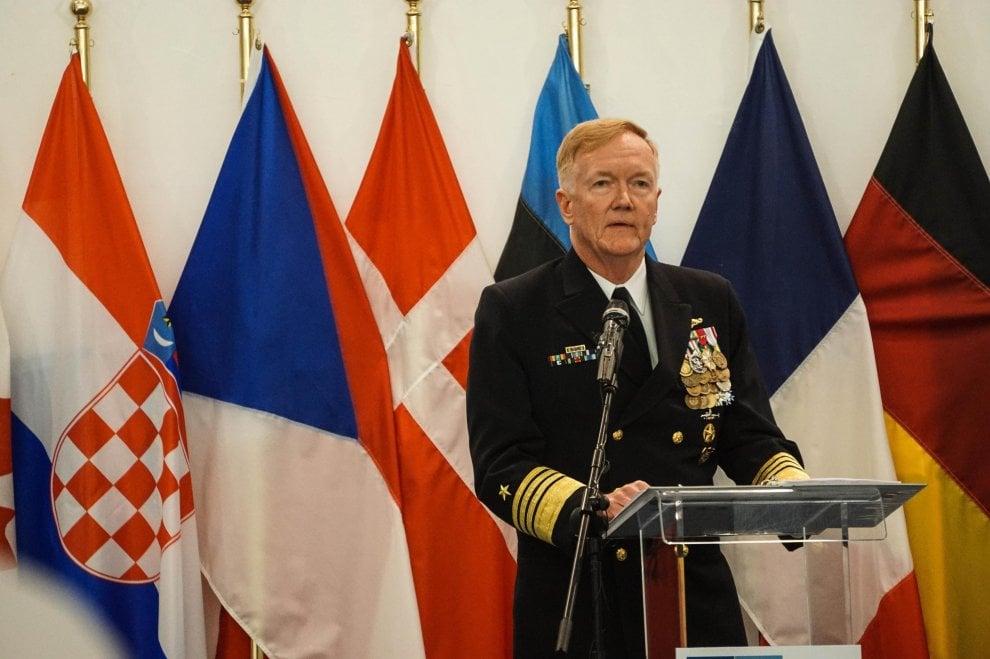 L'ammiraglio James Foggo è il nuovo comandante del Jfc Naples