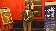"""Salerno, al cinema c'è """"Loving Vincent"""" e in sala spunta il sosia di Van Gogh"""