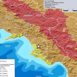 Terremoto: lieve scossa nel Salernitano, epicentro a Albanella