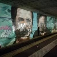Circumvesuviana: vandalizzati i murales di Troisi, Noschese e Totò nelle