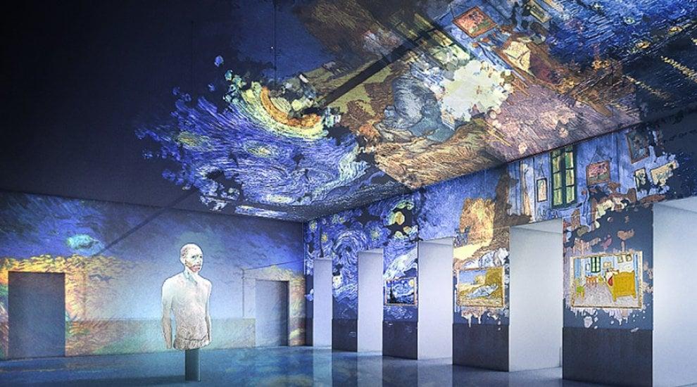 L'emozione di passeggiare dentro un quadro di Van Gogh