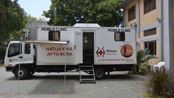Un clinica mobile in Kenya grazie all'associazione irpina Totalife