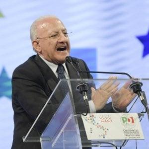 """Universiadi,  De Luca:  """"Sarà una sfida, dovremo avere un'organizzazione tedesca"""""""