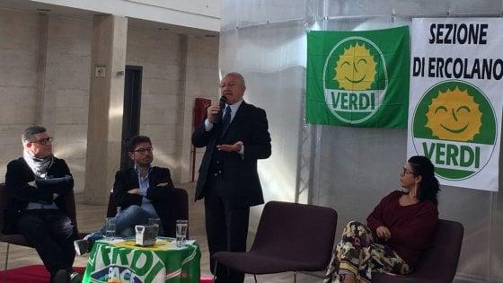 """Universiadi, De Luca: """"Bene se arriva un commissario per velocizzare le procedure, ma nessuna polemica"""""""
