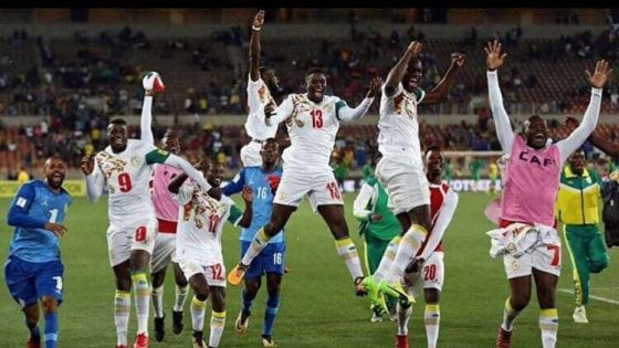 Senegal ai Mondiali Russia 2018
