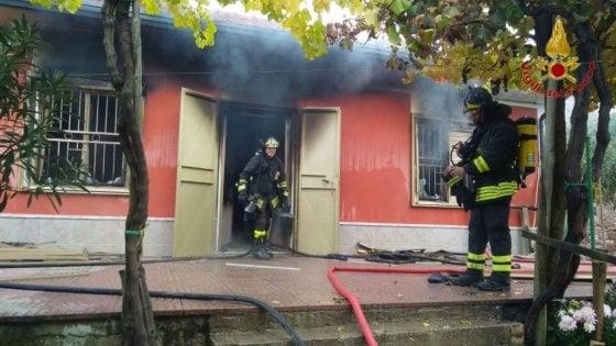 Casa esplode per una fuga di gas, paura in Irpinia