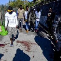 Immigrato ferito nel casertano, in 150 trasferiti in altre strutture