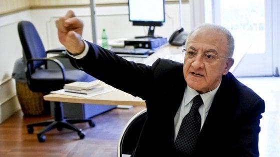 """Universiadi, De Luca al Governo: """"Accelerare sulle procedure"""""""