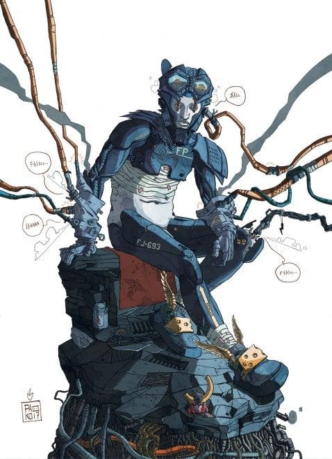 Esseri bionici e fumetti ecco il calendario 2018 dell for Ercole farnese 2017
