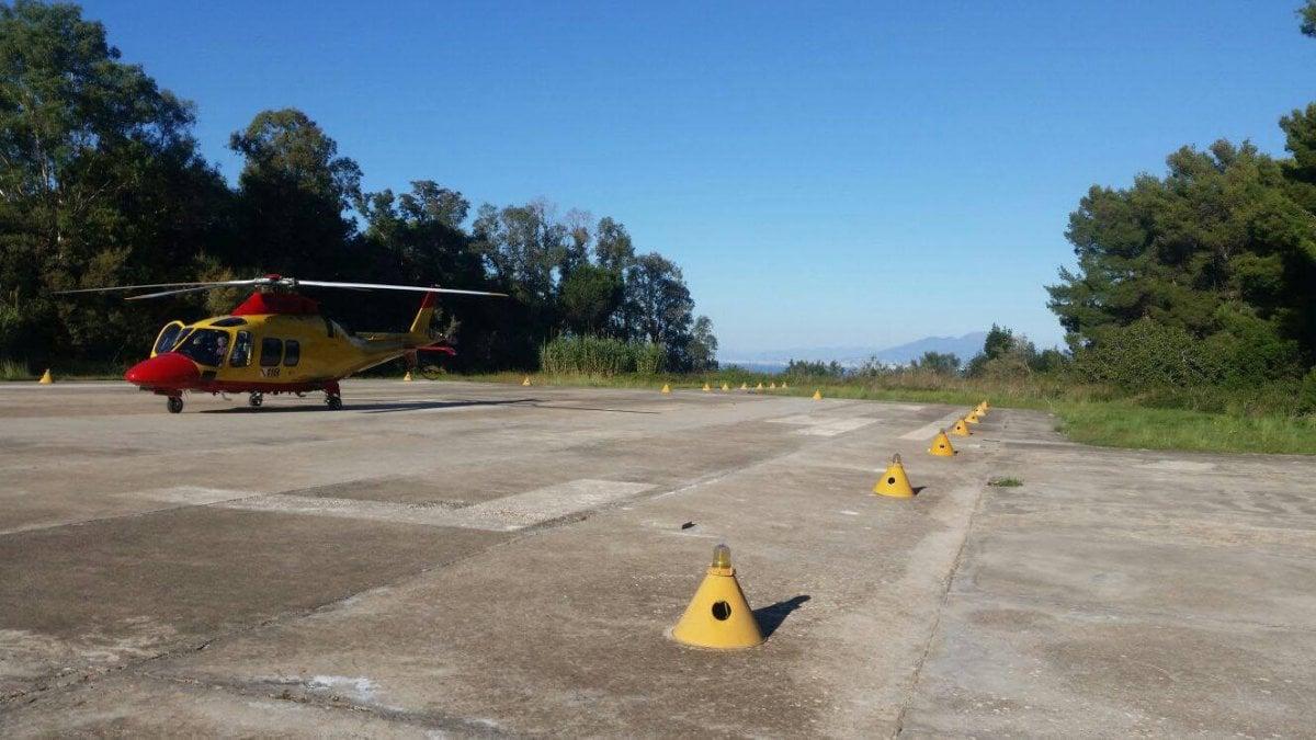 Elicottero Napoli : Niente più elicottero di notte allarme sanitario a capri