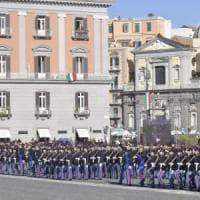 Napoli, il presidente Mattarella incontra de Magistris