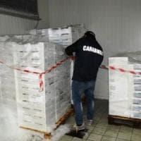Napoli, sequestrati 11 quintali di pesce senza tracciabilità