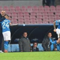 Il Napoli stravince in un San Paolo deserto: Champions riaperta