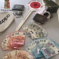 Rione Santià, blitz di polizia e carabinieri: due arresti