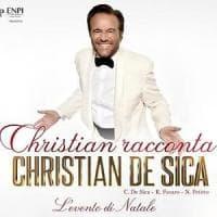 Teatro San Carlo, Christian De Sica si racconta con un maxi concerto