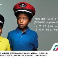 Due fratellini del Cilento nel calendario delle Ferrovie contro le aggressioni