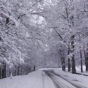 Potenza, la montagna accoglie la prima neve di stagione