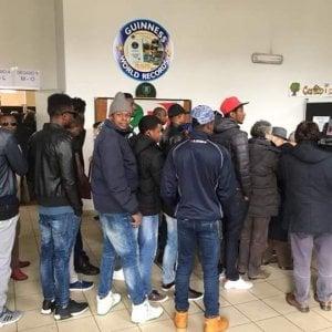 Potenza, i migranti alle votazioni del segretario regionale del Pd