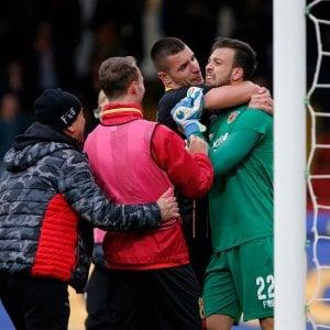 Benevento-Milan, il gol del portiere fa il giro del mondo