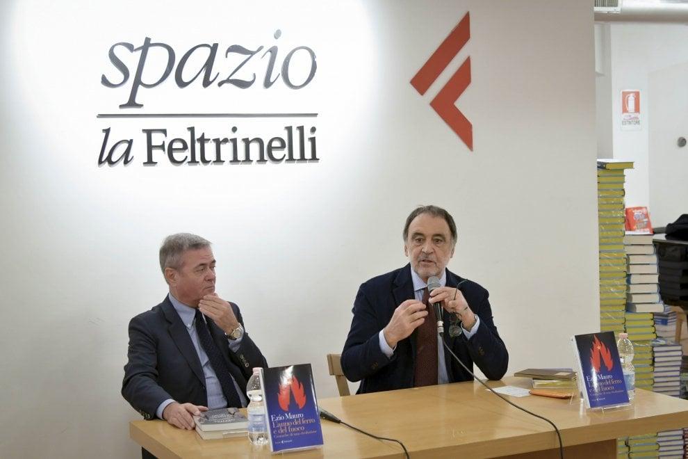 """Ezio Mauro presenta il suo libro """"L'anno del ferro e del fuoco"""""""