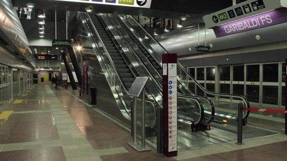 Metro Linea 1, stop ai treni da Dante a Garibaldi
