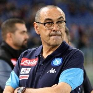 """Sarri: """"Dobbiamo restare tra i top club internazionali"""""""