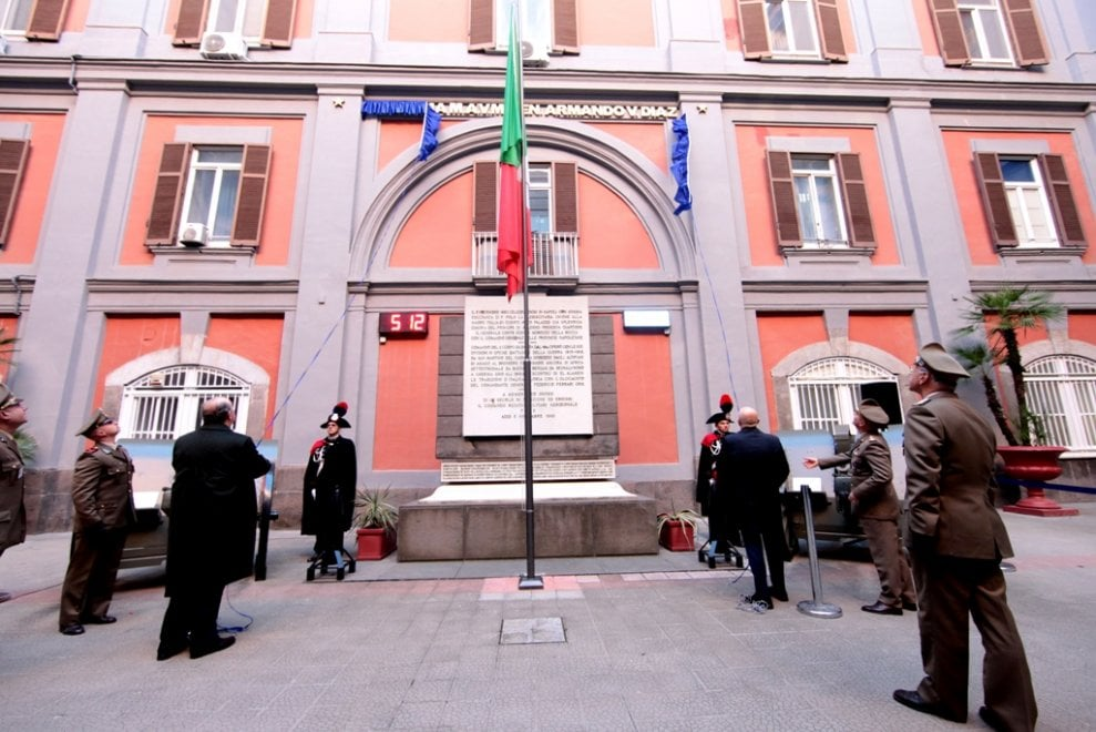 Intitolato al generale Diaz il comprensorio militare di Piazza Plebiscito