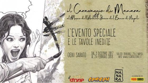 La mostra: Caravaggio raccontato da Manara