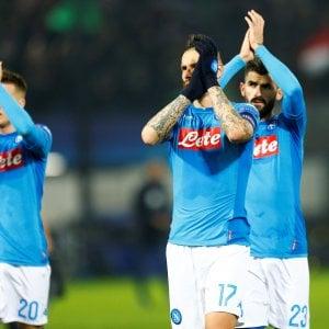Il Napoli dice addio alla Champions League: perde 2-1 col Feyenoord e adesso giocherà in Europa League