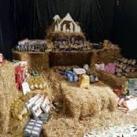 Generi alimentari al posto dei pastori:  a Forio nasce il Presepe della solidarietà
