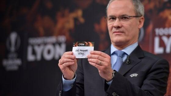 Europa League, l'Atalanta scopre la sua avversaria: la diretta del sorteggio
