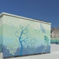 Arte come bandiera di legalità:  street art nel parcheggio sequestrato