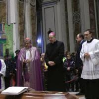 Monsignor Riboldi, il cardinale Sepe: