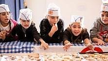 No alle merendine a Ischia i bimbi fanno  i biscotti con Slow Food