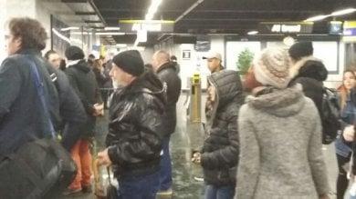 Metro 1 di nuovo ferma a Dante per 2ore  Centro città tagliato fuori e traffico in tilt