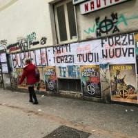 Forza nuova, striscioni contro Borrelli per aver difeso Repubblica