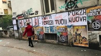 Forza nuova, striscioni contro il consigliere Borrelli per aver difeso Repubblica