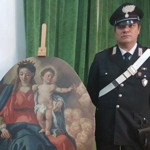 """Costiera amalfitana, cerimonia per restituire la """"Madonna con bimbo"""" trafugata nel 1992"""