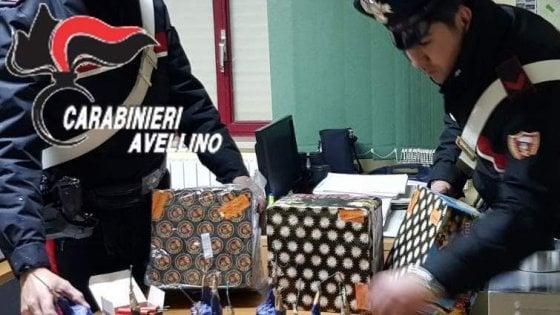 Capodanno sicuro: lotta ai botti illegali, sequestri e denunce in Irpinia