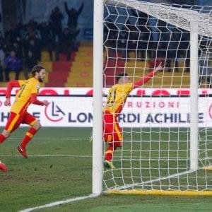 Benevento, prima vittoria in serie A, 1-0 con il Chievo