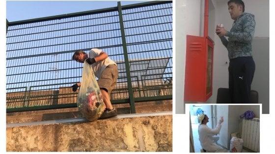 """Procida, la favola del campo sportivo: così i volontari hanno riqualificato lo """"Spinetti"""""""