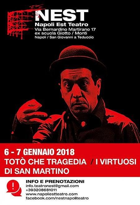 """I Virtuosi di San Martino al Nest con """"Totò che tragedia"""""""