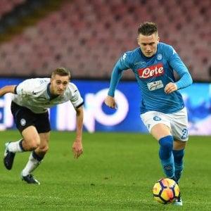 Napoli, addio alla Coppa Italia: l'Atalanta passa due volte