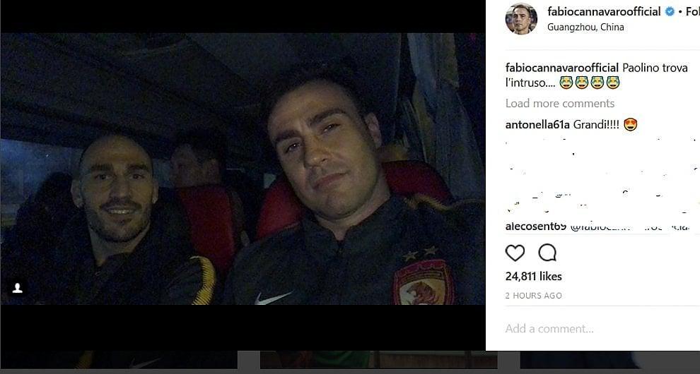 Due fratelli in Cina:  per i Cannavaro comincia l'avventura a Guangzhou